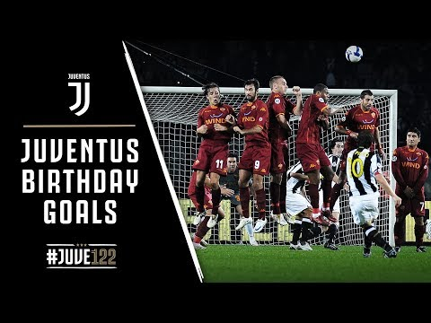 JUVENTUS BIRTHDAY GOALS!   EVERY GOAL SCORED ON 1 NOVEMBER   #JUVE122