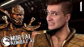 ПРОХОЖДЕНИЕ Mortal Kombat XL НА РУССКОМ ЯЗЫКЕ -ГЛАВА 1- ДЖОННИ КЕЙДЖ