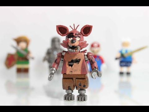Five nights at freddy s customs lego foxy minifigure musica movil