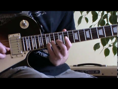 Carlos Santana Moonflower guitar lesson with tabs