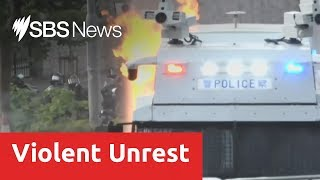 Petrol bombs and tear gas on the streets of Hong Kong as protests turn violent