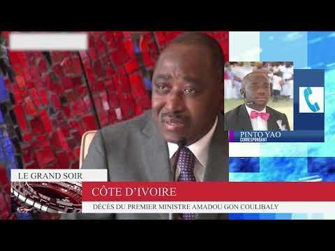 Le Grand Soir Spécial Décès du Premier ministre Mr Amadou Gon Coulibaly