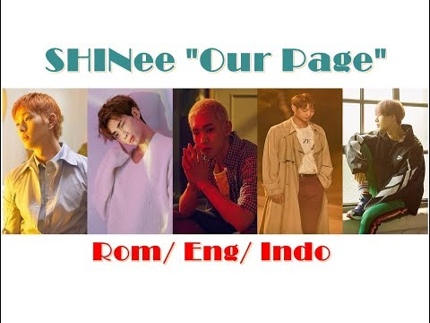 SHINee Our Page Color Coded Rom Eng Indo Lyrics