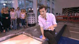 Matt Smith & Karen Gillan Explain the Science of Cornflour Batter - The One Show - BBC One