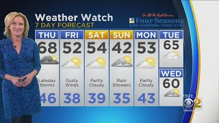 CBS 2 Weather Watch 10 PM 4-10-19