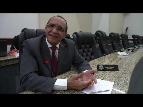 Entrevista com o vereador Roberto Tourinho - PV