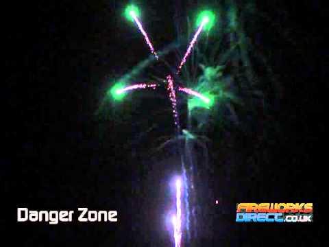 Vulcan Danger Zone - 25 Shot firework