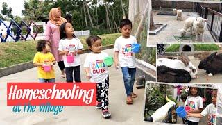Wisata Pendidikan The Village Purwokerto | Zara Cute Homeschooling Belajar mengenal Hewan