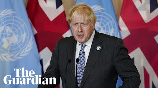 Developing world bears brunt of climate crisis, says Johnson