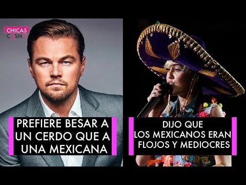 FAMOSOS que HAN HABLADO MAL de LOS MEXICANOS