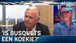René geniet ouderwets van Harry Mens: 'Is Busquets een koekie?' | VERONICA INSIDE