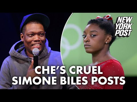 Michael Che blasted for cruel jokes about Simone Biles | New York Post