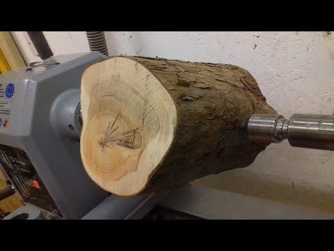 Woodturning - Log to Bowl