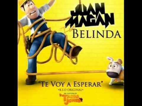 Juan Magán Ft Belinda   Te voy a esperar [Oficial video] (Las Aventuras de Tadeo Jones)