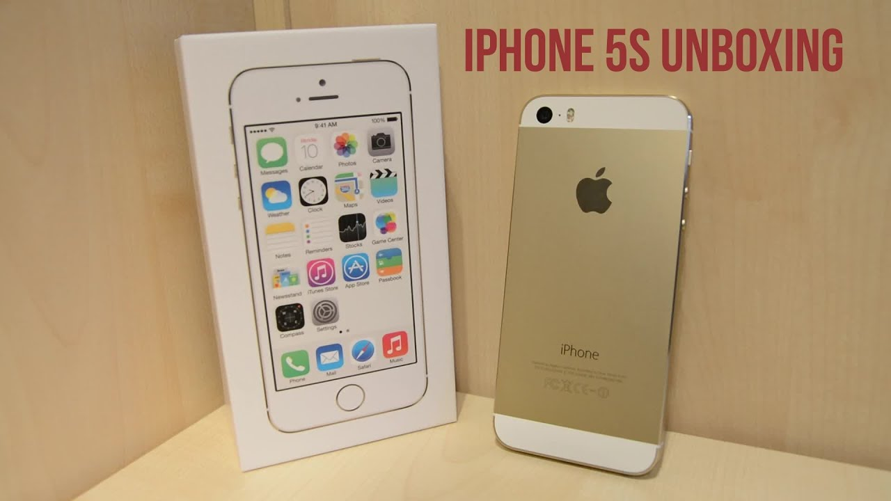 iPhone 5s Unboxing - Gold - YouTubeIphone 5s Champagne Gold Unboxing