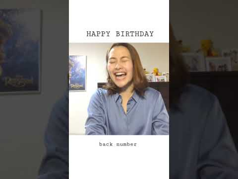 HAPPY BIRTHDAY / back number cover by 有華 #shorts