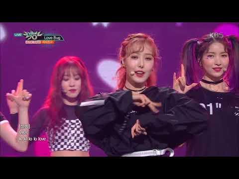 뮤직뱅크 Music Bank. Love Bug - 여자친구 (GFRIEND). 20160504