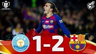 COPA DEL REY | UD Ibiza-Eivissa 1-2 FC Barcelona