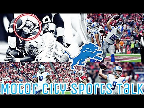 Detroit Lions Battle Arizona Cardinals to a Draw 27-27 | Full Game Reaction Video!!!