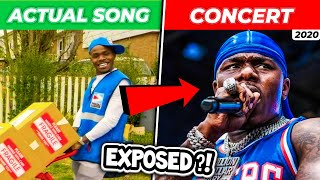 POPULAR RAP SONGS vs. LIVE CONCERTS (DABABY, YNW MELLY, YOUNGBOY & MORE)