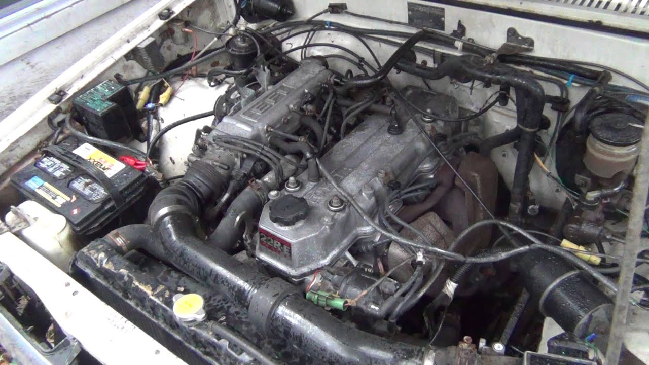 1985 toyota 22re fuel injection engine youtube 1986 toyota celica wiring diagram