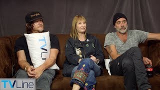 'Walking Dead' Cast on Andrew Lincoln Exit, Daryl's Sex Life, More | Comic-Con 2018 | TVLine