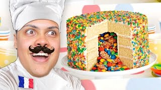 How To Make A Cake - Cooking With Chef MessYourself