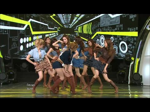 【TVPP】SNSD - Mr.Taxi, 소녀시대 - 미스터 택시 @ Comeback Stage, Show Music core Live