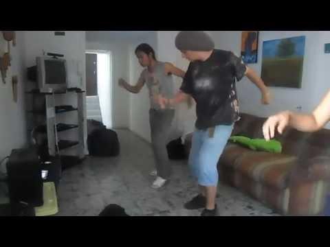 pasos de SAYA (canción : baila caliente) , profe Yaguar (danza Andina)