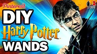 DIY Harry Potter Wands, Corinne VS Pin #32 FEAT. SIMPLYNAILOGICAL