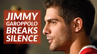 49ers QB Jimmy Garoppolo's First Press Conference since Super Bowl Loss