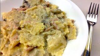 CREAMY RAVIOLI - 5 Minute Meal recipe