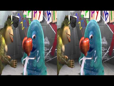 Monster vs Aliens 3D - BOB's Big Break