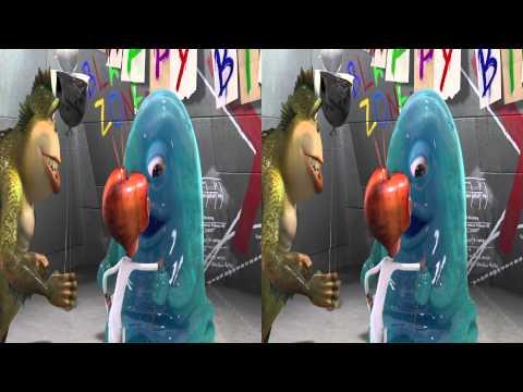 Monster vs Aliens 3D - BOB's Big Break