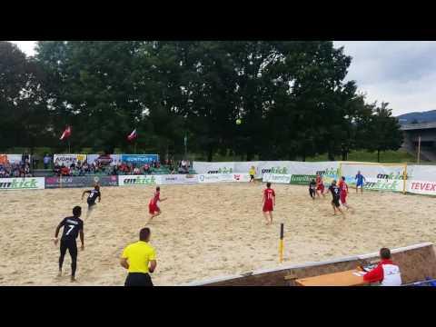 Bahamas Beach Soccer in Austria
