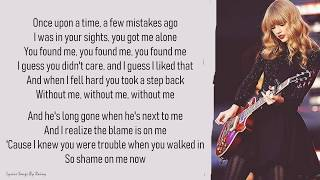 Taylor Swift - I Knew You Were Trouble | Lyrics Songs