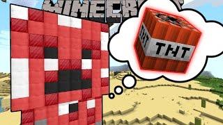 Minecraft: INSIDE A CREEPER'S DREAM! - CATCH MR TROLL - Custom Map [2]