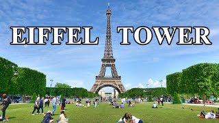 EIFFEL TOWER - EIFFEL TOUR , PARIS 2019 4K