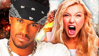 REAL THUG vs. PISSED OFF GIRL! [Call of Duty Trolling]