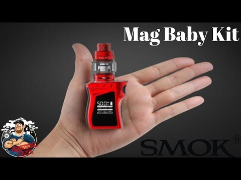 video Smok Mag Baby 50w Tc 1600mah Starter Kit