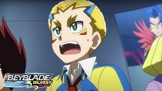 BEYBLADE BURST RISE Episode 16 Part 2 : Battle at the Infernal Tower!