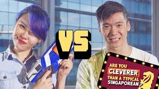 Are You Cleverer Than A Typical Singaporean? Ep 1: Sylvia (NOC) vs Joshua (ABTM)