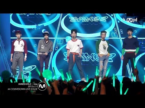 [MPD직캠] 샤이니 직캠 View SHINee Fancam Mnet MCOUNTDOWN 150611