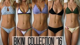 Bikini Collection 2016 + Try On (Sahara Ray, Kiini, Triangl + Victoria's Secret) | allegralouise