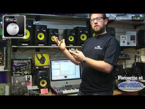 Focusrite VRM Box Virtual Reference Monitor Demo @ Nevada Music UK