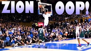 ZION WILLIAMSON THE ALLEY OOP...