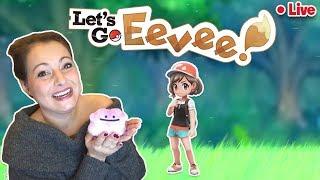 🔴 LIVE! Pokemon Let's Go Eevee