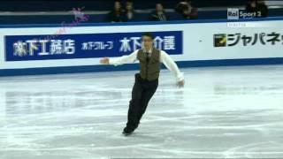 ISU GP Final SOCHI 2012 -2/7- MEN FS - Javier FERNANDEZ - 08/12/2012