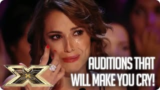Get ready to cry! Emotional Auditions   The X Factor UK