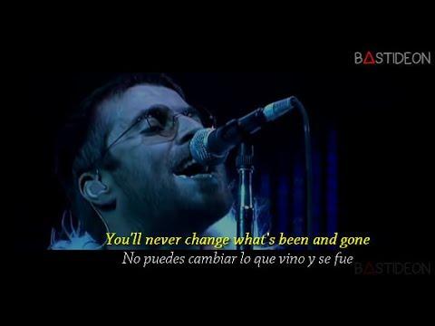 Oasis - Stop Crying Your Heart Out (Sub Español + Lyrics)